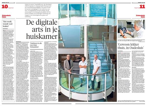 Hospital@Home: de digitale arts in je huiskamer